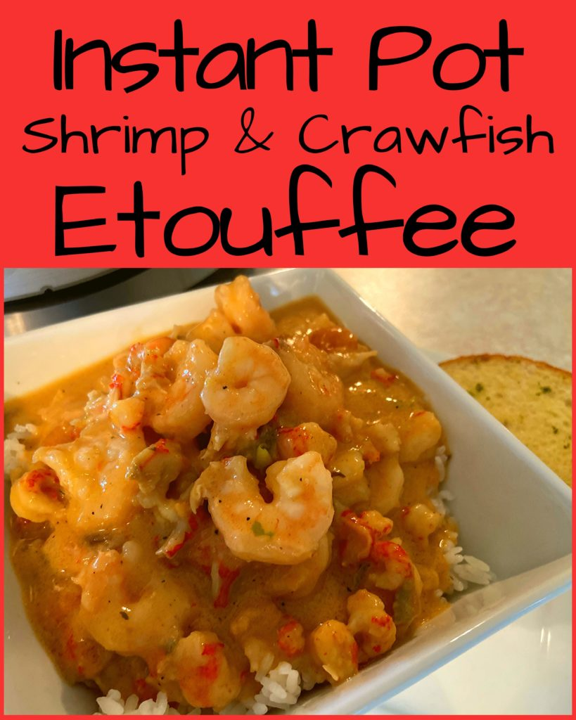 Easy Instant Pot Shrimp And Crawfish Etouffee The Peculiar Green Rose
