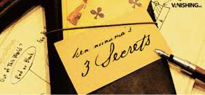 3 Secrets by Ken Niinuma