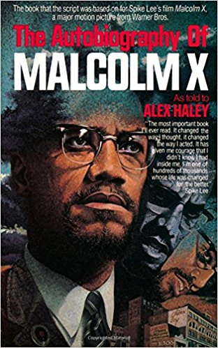 The Autobiography of Malcolm X Book Cover