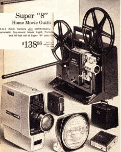 Super 8 Home Movie Outfit
