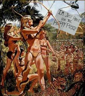amazon jungle women