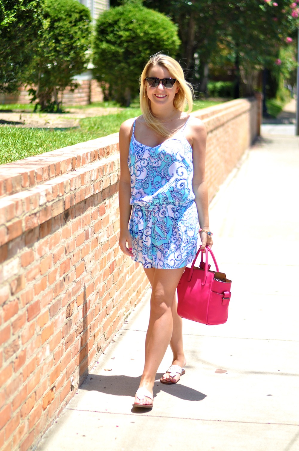 Printed Lilly Romper