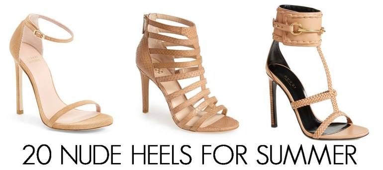 20 Nude Sandals for Summer