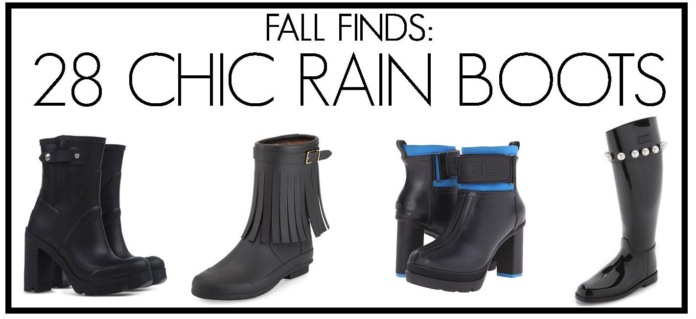 28 Chic Rain Boots
