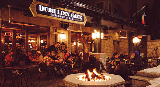 dubh linn gate pub whistler city guide