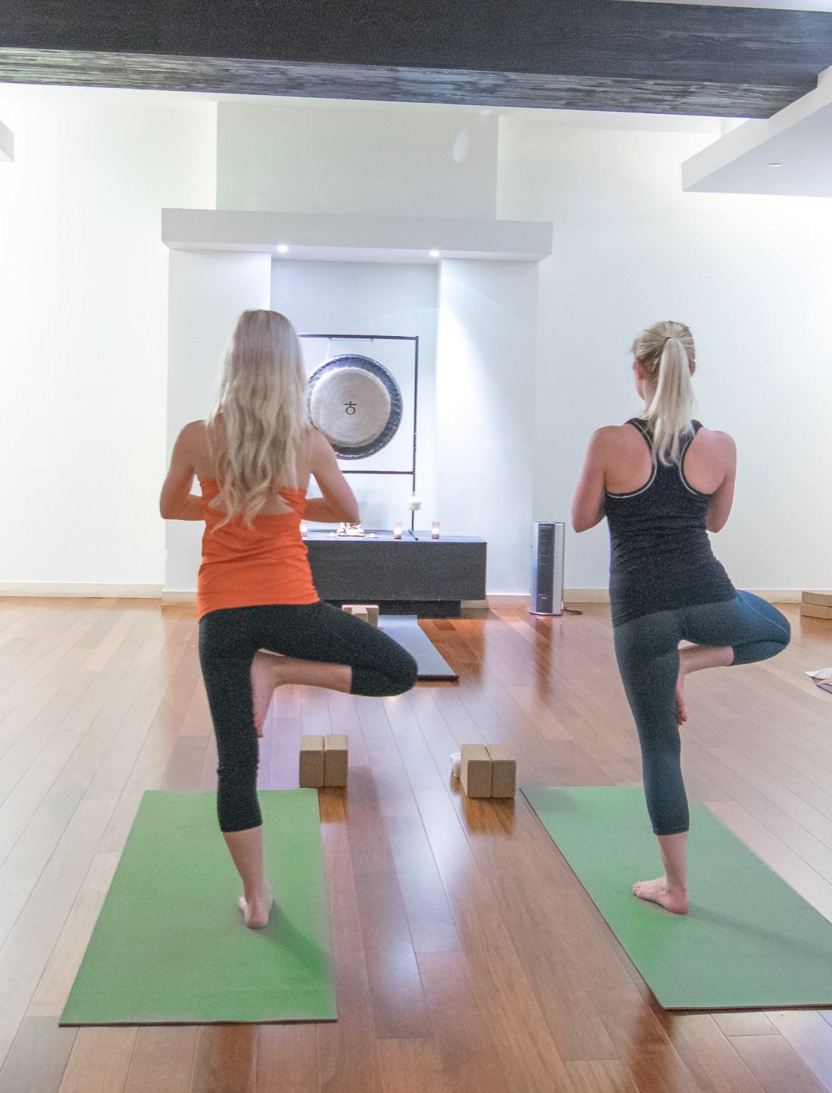 Highland Hotel Dallas yoga exhale