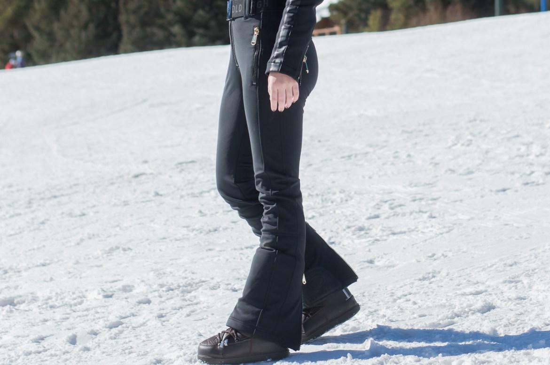 Tight Black Ski Pants