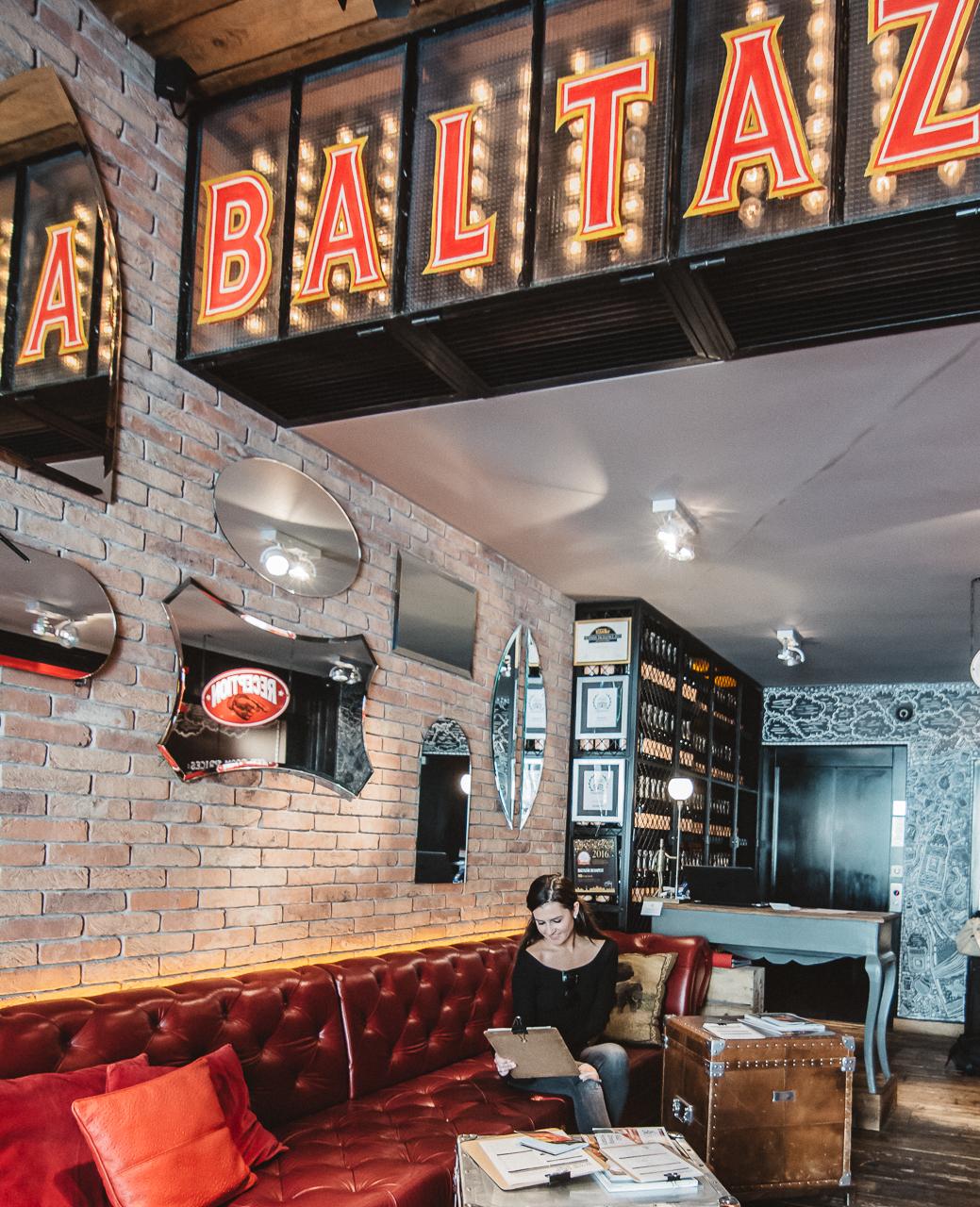 Baltazar Hotel Budapest Lobby