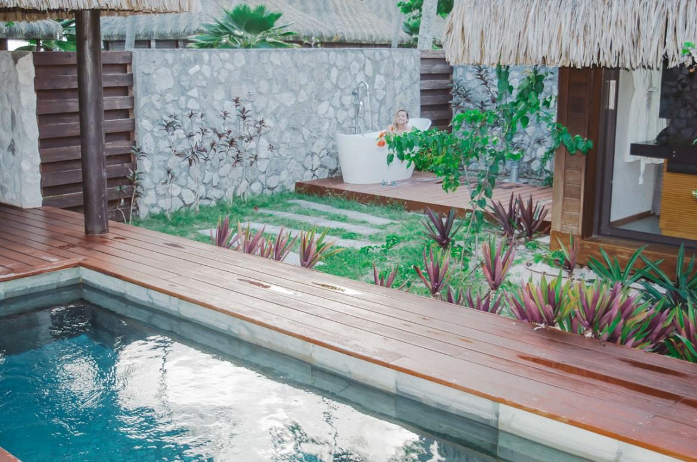 Hotel Kia Ora Rangiroa French Polynesia Bath Tub