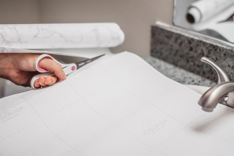 DIY Marble Countertops Contact Paper
