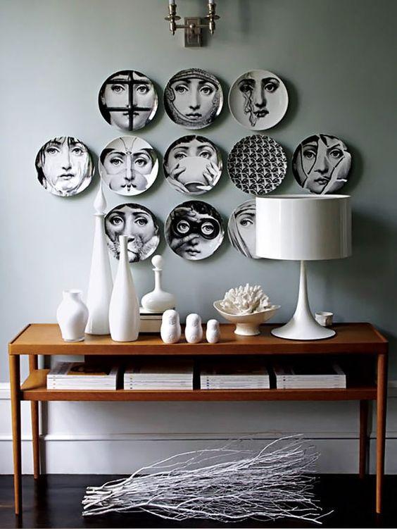 Fornasetti Plate Wall Decor