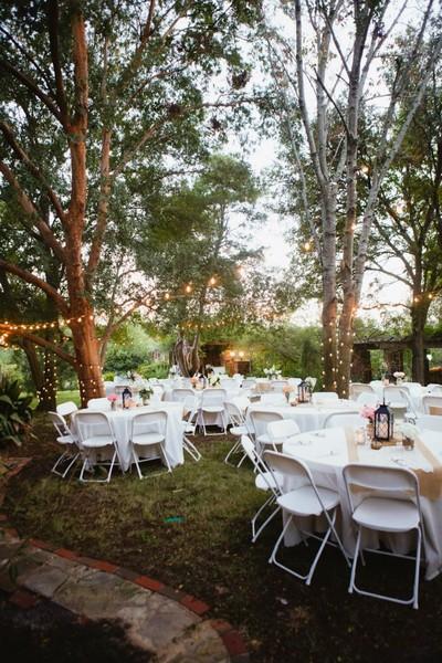 Outdoor Wedding October