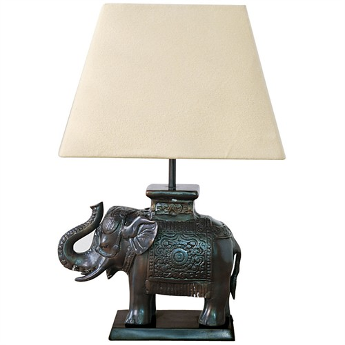 Bronze Elephant Lamp At The Perfect Present Company