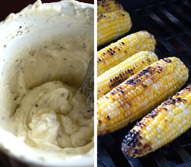 Grilled Chicken with Parmesan Corn