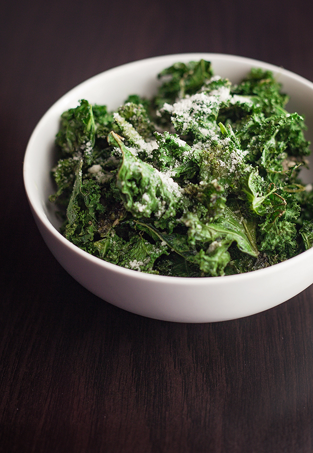 Parmesan Kale Chips Recipe