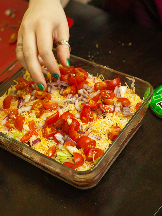 Game Day Taco Dip & SNICKERS® Milkshake Recipe