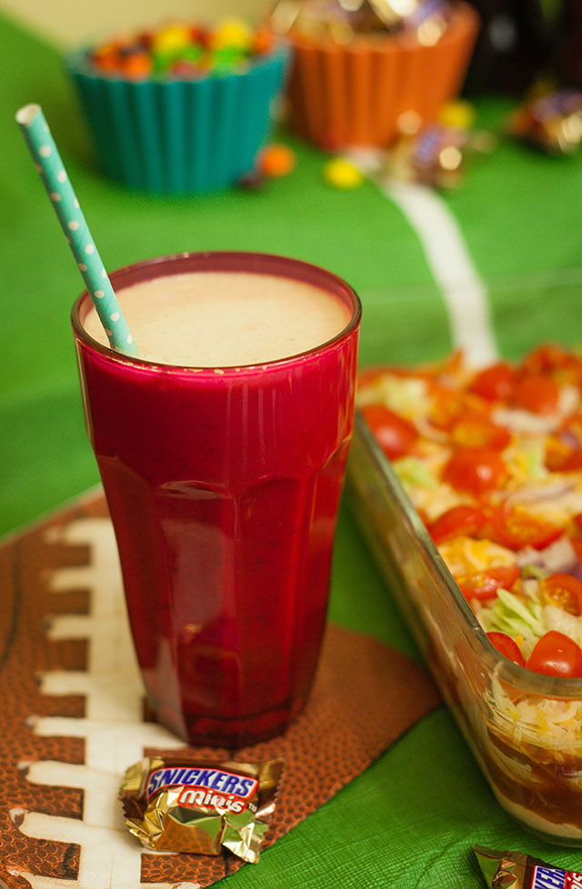 Game Day Taco Dip & SNICKERS® Coffee Milkshake Recipe