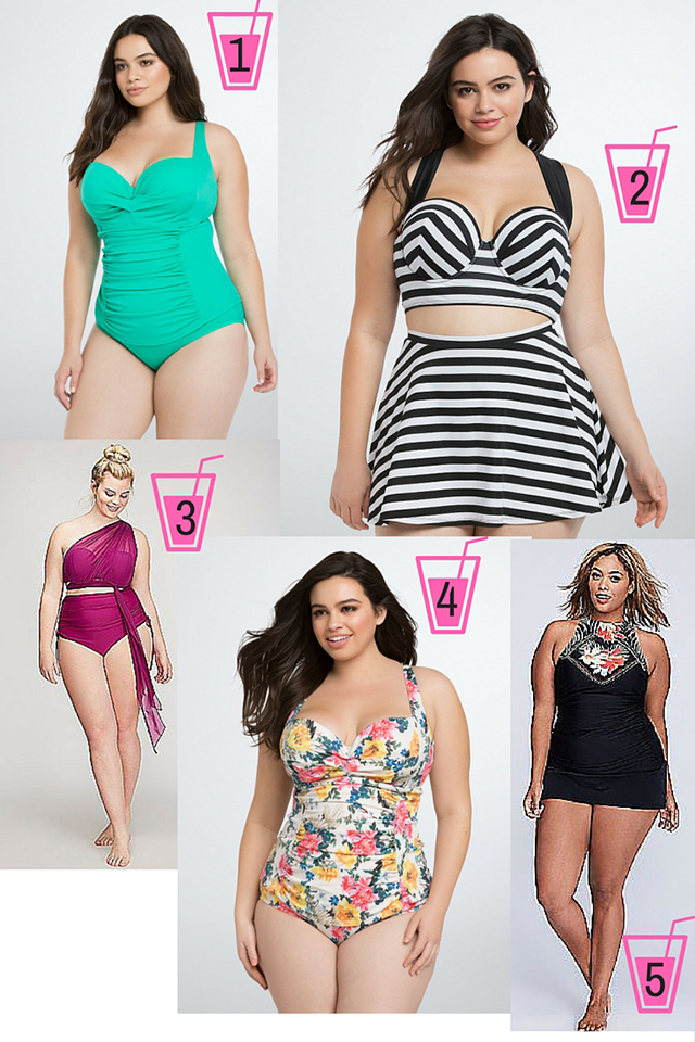 Wearable Wednesday: 9 Killer Swimsuits for Plus Size Ladies