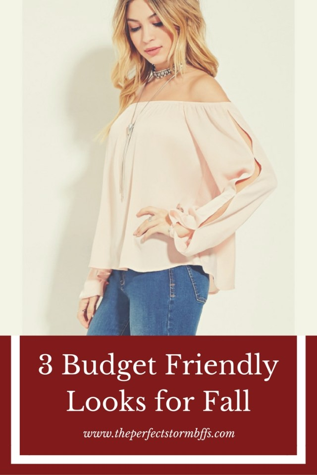 3 Budget Friendly Looks for Fall
