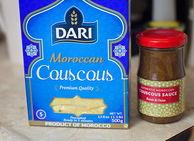 Moroccan Meatballs & Couscous with Try The World