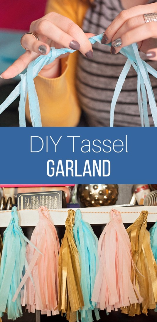 DIY Tassel Garland by The Perfect Storm