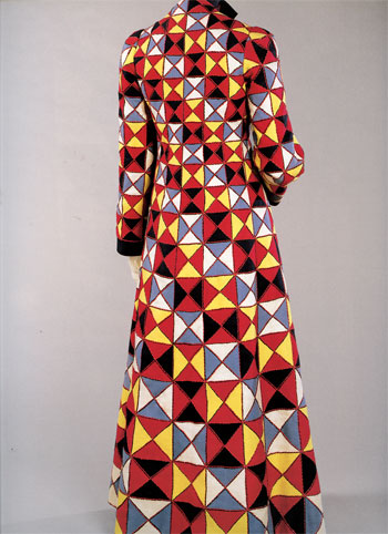 Elsa Schiaparelli Patchwork harlequin evening jacket (Spring 1939)
