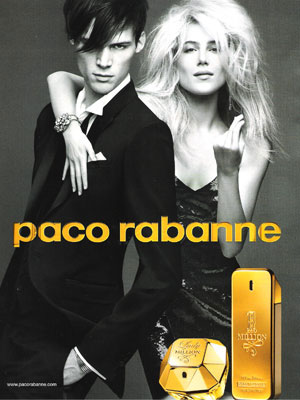 Who ARE these people? Paco Rabanne 1 Million and Lady Million