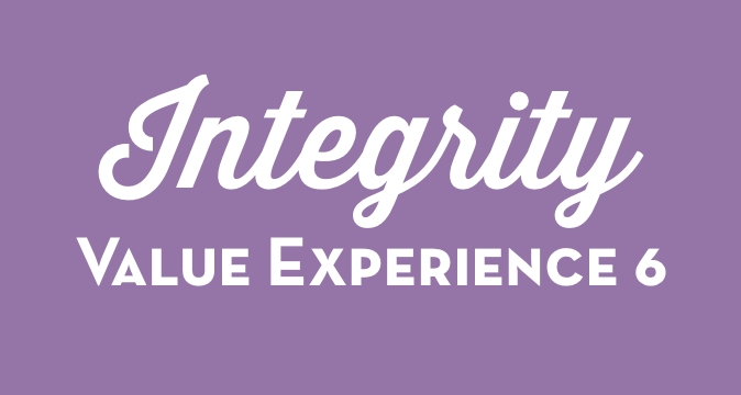 Integrity Value Experience 6