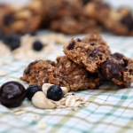 Super Healthy Cherry Cashew Breakfast Cookies