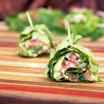 Low-carb Smoked Salmon and Avocado Roll-ups