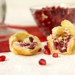 Cranberry Pomegranate Goat Cheese Poppers