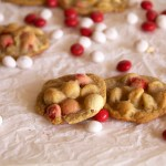 Peppermint White Chocolate Macadamia Cookies