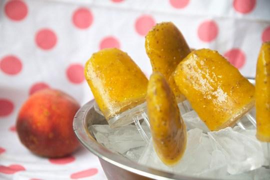 Peach Mango Chia Pops