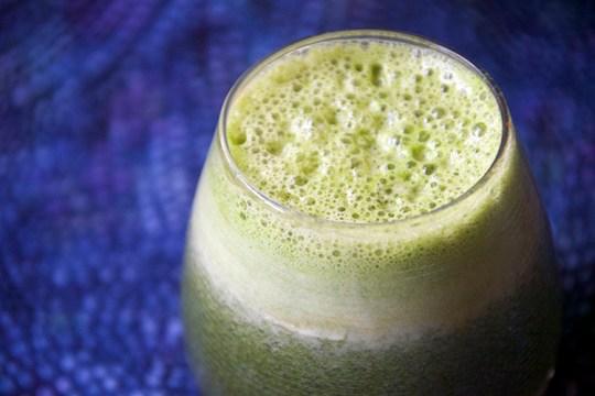 Blueberry Green Juice