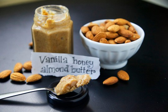 Vanilla Honey Almond Butter