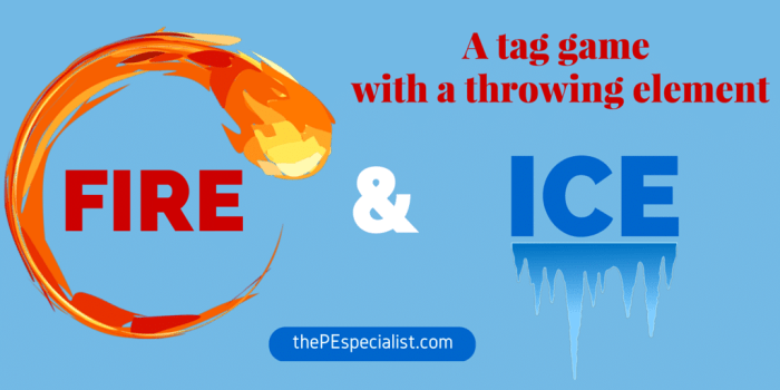 Fire and Ice Freeze Tag