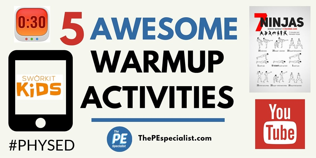 5 Awesome Instant Activities Great For PE Class Warmups