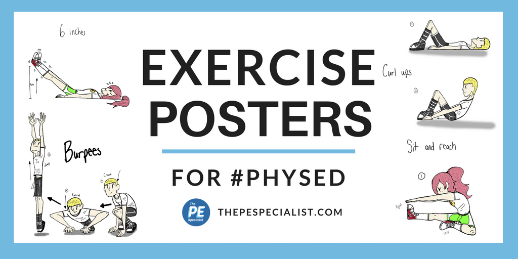 Exercise Posters for PE
