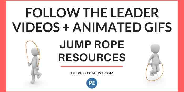 Flipping PE: Jump Rope Trick Videos and Animated GIFs