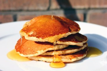 Easy and Quick Pumpkin Pancakes - Perfect Fall Breakfast!