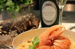 Italian Lobster Risotto recipe, quick easy summer recipe with seafood