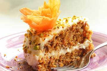 american easy carrot cake with orange mascarpone cream - recipe by the petite cook