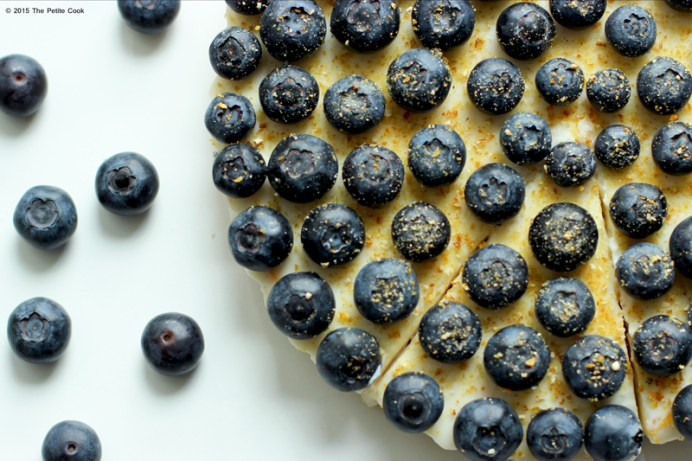 Super easy Blueberry & Yuzu Cheesecake - No bake, no fuss, with an unusual addition to make it irresistibly delicious! recipe by The Petite Cook