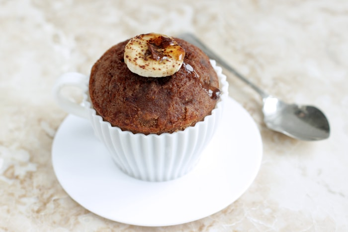 Banana Cocoa and Honey muffins made without dairy, gluten or refined sugar. Quick to make, these muffins are super fluffy and delicious and totally healthy. Gluten free and dairy free recipe by The Petite Cook