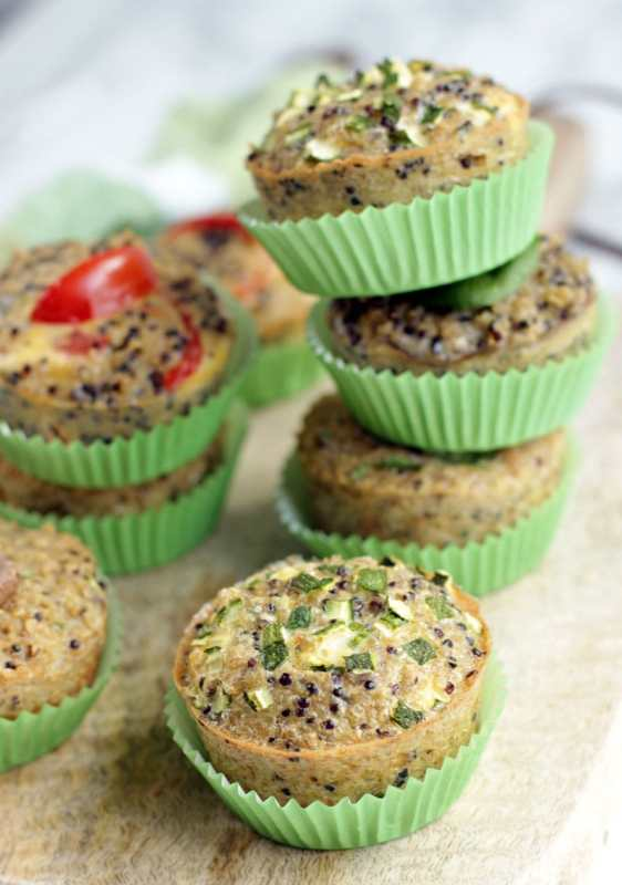 Quinoa Breakfast Muffin - Make the most of superfood quinoa. These quick quinoa breakfast muffins are a great snack on-the-go and smartly gluten-free. Packed with vitamins, protein and healthy benefits, they will give you all the energy you need to kick off the day. Recipe by The Petite Cook