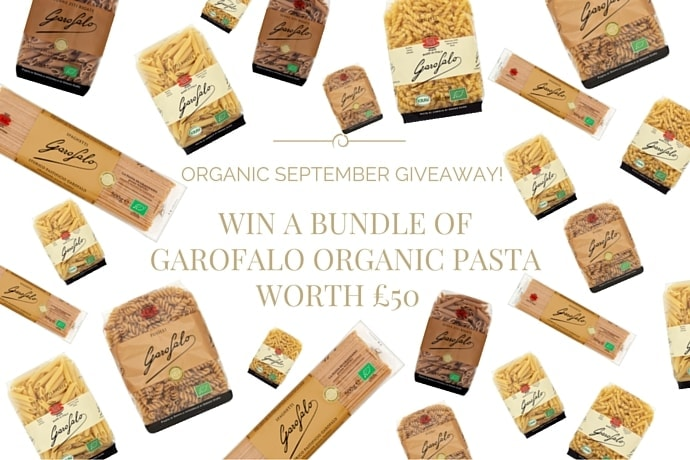 WIN A BUNDLE OF GAROFALO ORGANIC PASTA WORTH £50