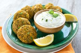 sweet potato and veggie fritters