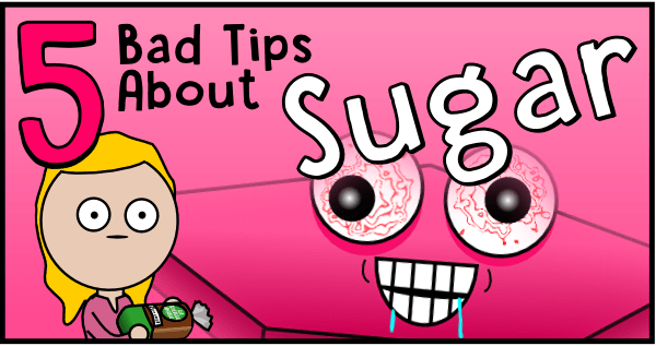 5 bad tips about sugar (header)