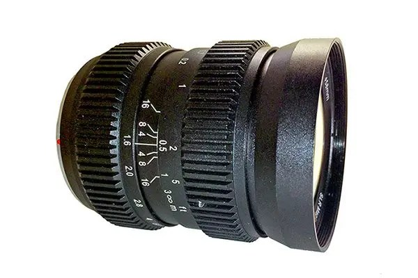 SLR Magic HyperPrime CINE 12mm T1.6 w/ Gear