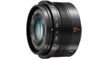Panasonic Announces 15mm f1 7 Leica DG Summilux Lens for Micro Four